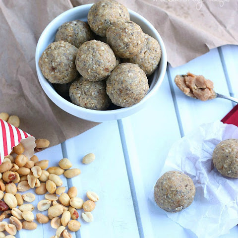 Peanut Butter Oatmeal Cookie Energy Bites