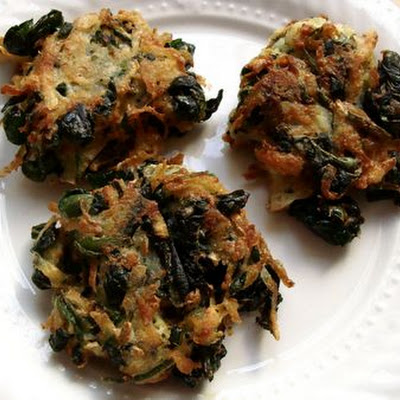 Spinach Ricotta Potato Pancakes