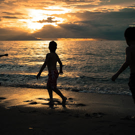 beach-boys by Arnaud rL - Babies & Children Children Candids