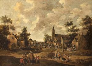 RIJKS: Cornelis Droochsloot: painting 1664