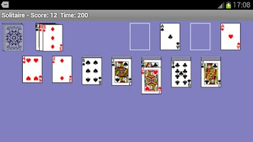 Screenshot of Hoasung Solitaire