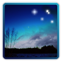 Stars of the night sky icon