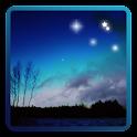 Stars of the night sky icon