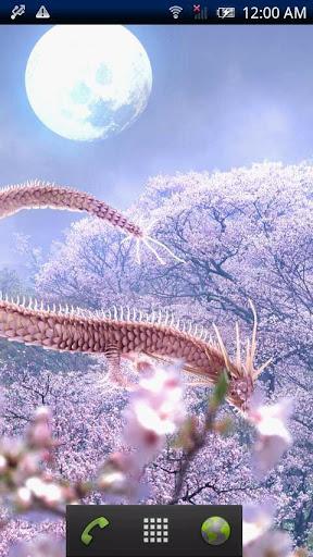 無料个人化Appの桜龍神と月|記事Game