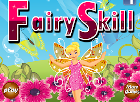Screenshot of Fairy elementary math game