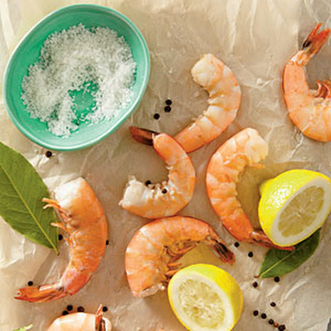 Perfect Poached Shrimp