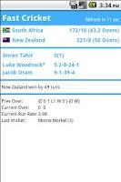 Screenshot of Fast Cricket