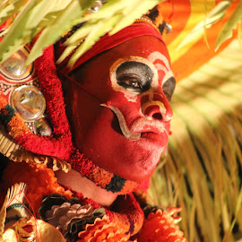Theyyam by Bipeesh Bhaskaran - People Body Art/Tattoos ( theyyam people taboo traditional art )