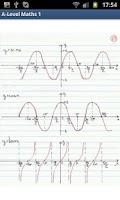 Screenshot of A-Level Mathematics (Part 1)