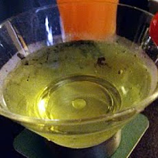 Alien Urine Sample (Halloween Cocktail)