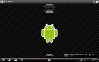 Screenshot of Music WiiMote