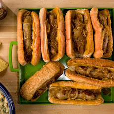 Beer-Braised Bratwursts with Onion Recipe