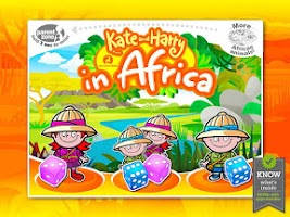 Screenshot of Kate and Harry in Africa