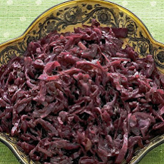 Brown-Sugar-Spiced Red Cabbage