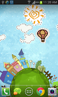 Screenshot of Cartoon City Live Wallpaper