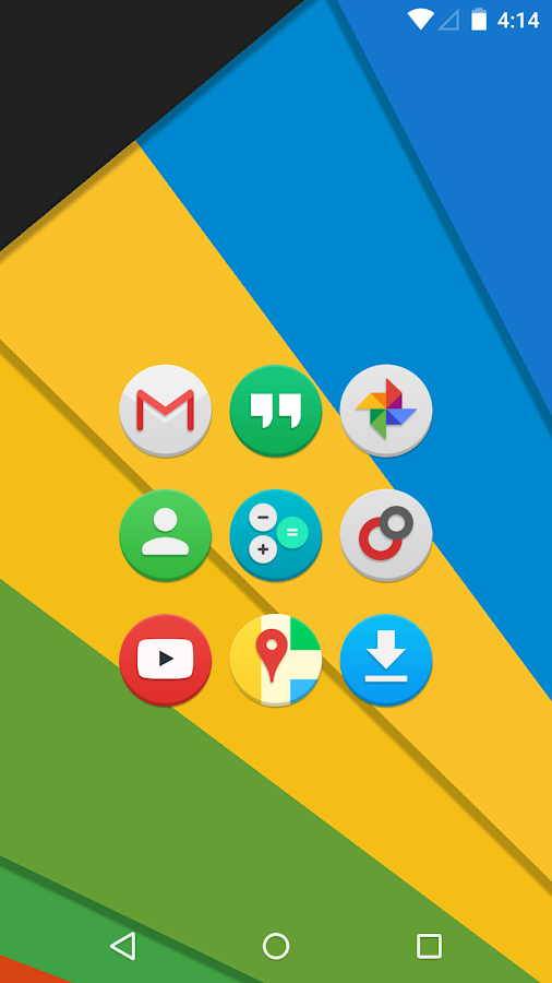 Audax - Icon Pack Screenshot 0