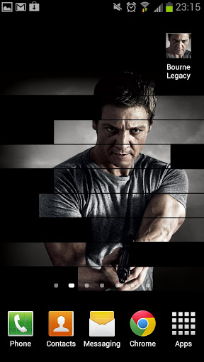 Bourne Legacy Live Wallpaper
