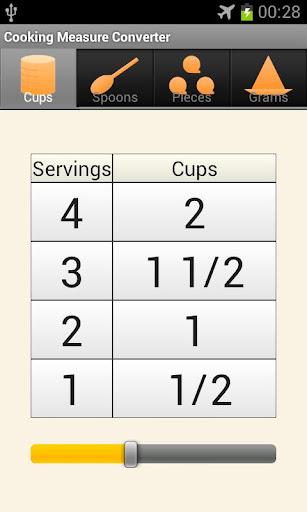 レシピ分量換算電卓