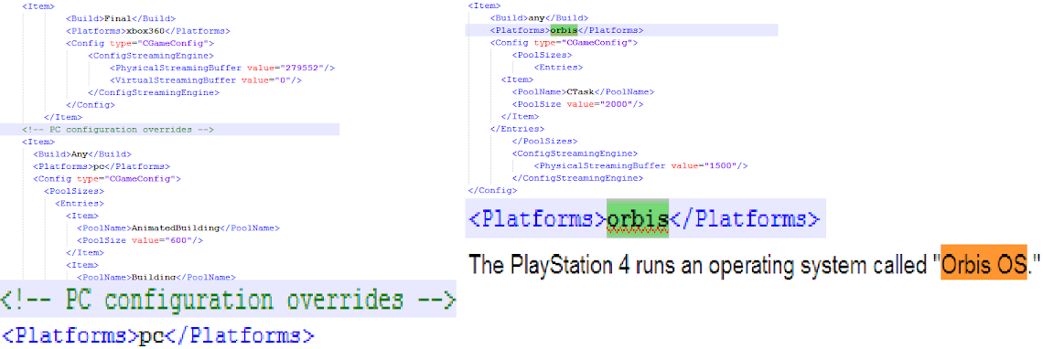 Leaked GTA V source code mentions PS4 and PC versions