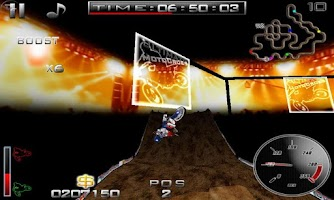 Screenshot of Ultimate MotoCross Free