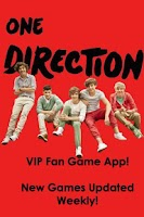 Screenshot of One Direction VIP Games Free