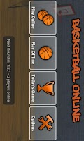 Screenshot of Basketball Online