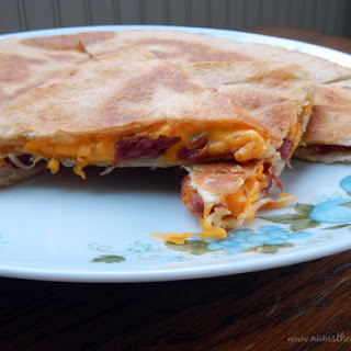 Corned Beef & Cheese Curd Quesadilla