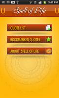 Screenshot of Spell of Life