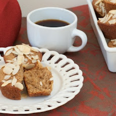 Applesauce and Toasted Almond Muffins