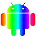 Rainbow Theme (go launcher ex) icon
