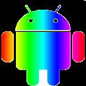Rainbow Theme (go launcher ex) icon