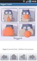 Screenshot of Boggart Comic