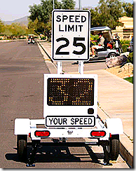 Don't speed here!