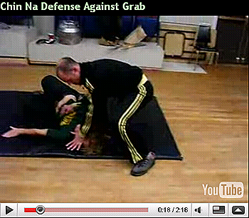 Dojo Rat Chin Na Defense Against Grab