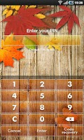 Screenshot of App Guard - Autumn Theme