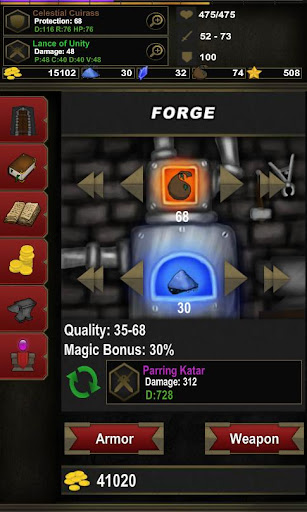 Dungeon Adventure: Heroic Ed. - screenshot