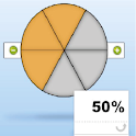 Fraction Circle icon