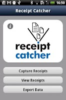 Screenshot of Receipt Catcher