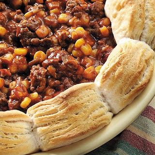 Sloppy Joe Casserole with Corn