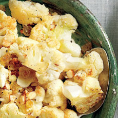 Cauliflower with Golden Raisins and Almonds