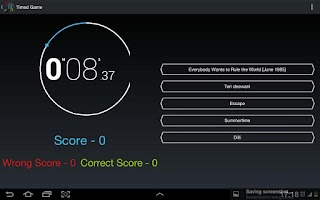 Screenshot of Music Mania