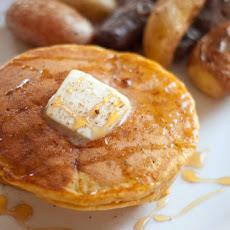 Whole Wheat Pumpkin Pancakes