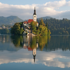 Bled by Blaz Crepinsek - Landscapes Waterscapes (  )