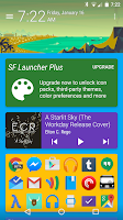 Screenshot of SF Launcher Plus Key