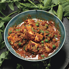 Paneer Curry with Peas