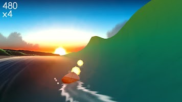 Screenshot of Infinite Surf
