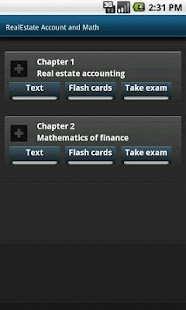 RealEstate Account & Math. MBA - screenshot