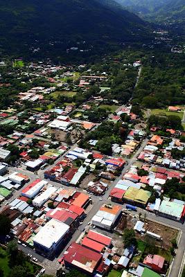 Ciudad desde el helicóptero