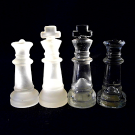 Kings & Queens  by Lorie  Carpenter  - Artistic Objects Other Objects ( queens, chess, artistic, kings, objects )