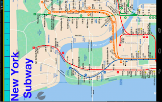 Screenshot of New York Metro Map